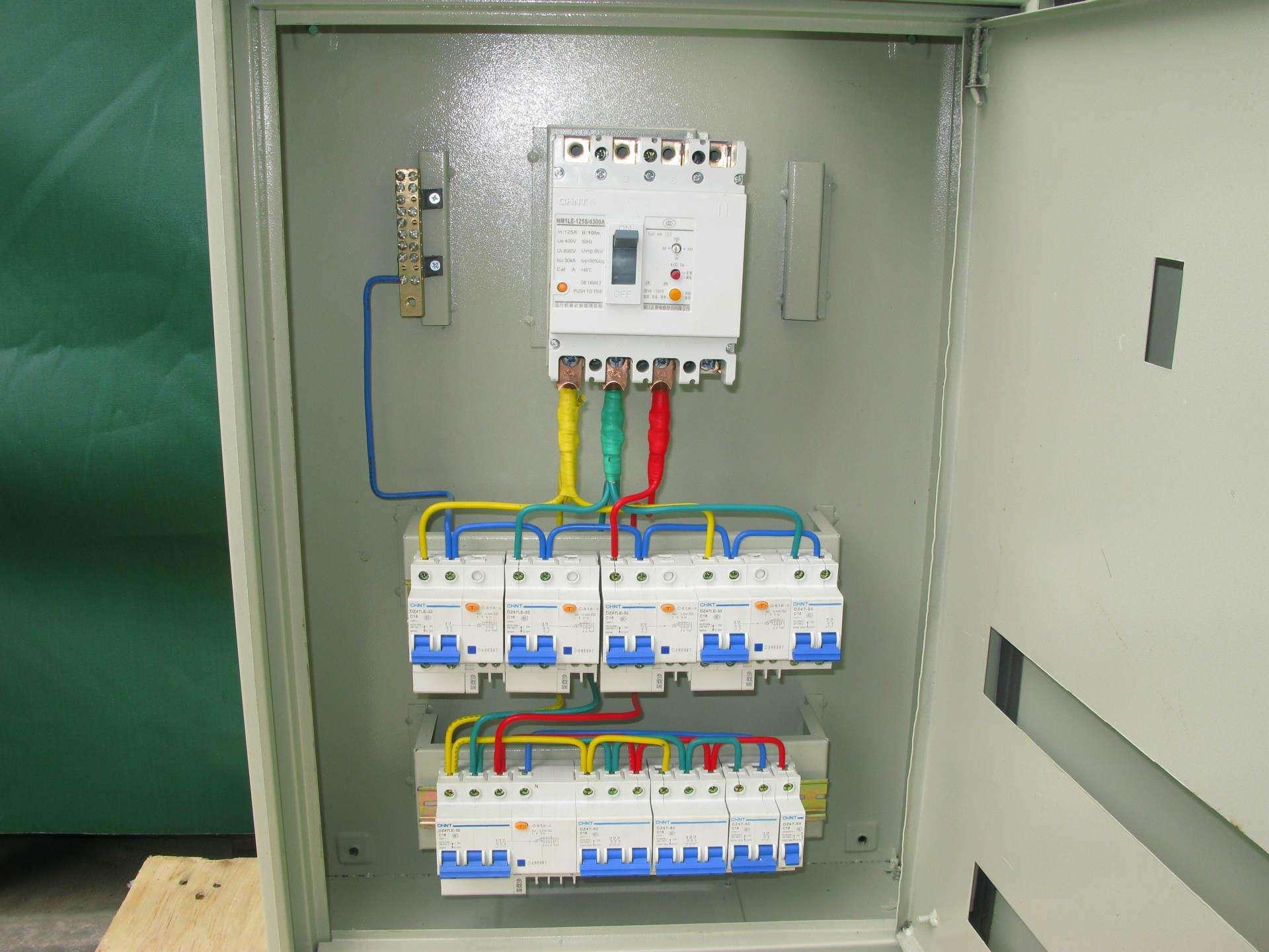 九龙园派出所非标应急照明箱安装项目